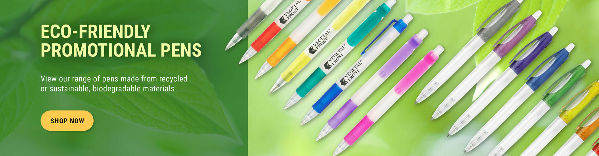 Eco friendly pens