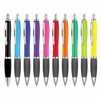 Image Curvy Colour Retractable Pen