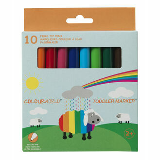 Colourworld Toddler Children\'s Marker - Pack Of 10