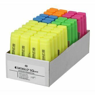 Dataglo Sq Highlighter - Pack Of 48 (mixed)