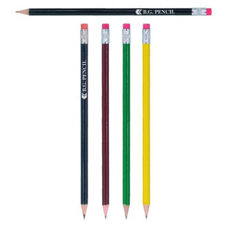 Bg Pencils With Pink Eraser