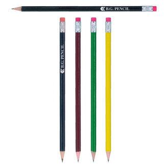 Bg Pencils With Pink Eraser