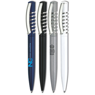 New Spring Metallic Retractable Pen