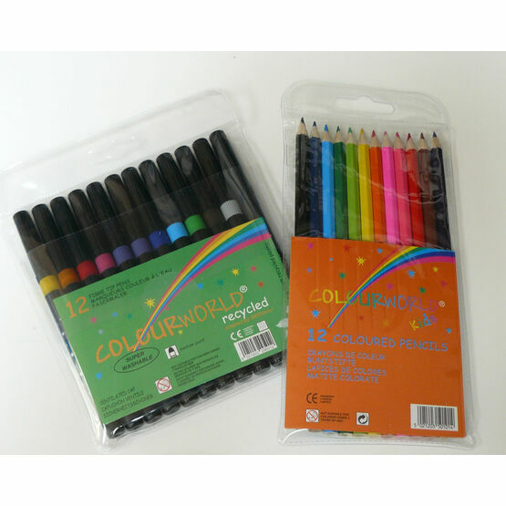 Back to School Colouring Set