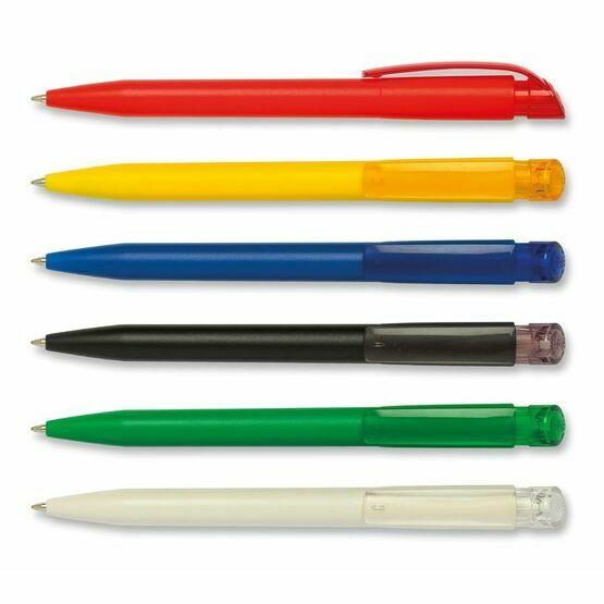 S45 Bio Transparent Clip 80% Bio-Compostable Pen