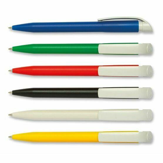 S45 Bio White Clip 80% Bio-Compostable Pen