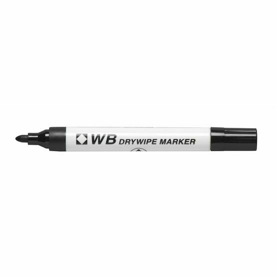 Wb Dry Wipe Bullet Tip Marker - Pack Of 10