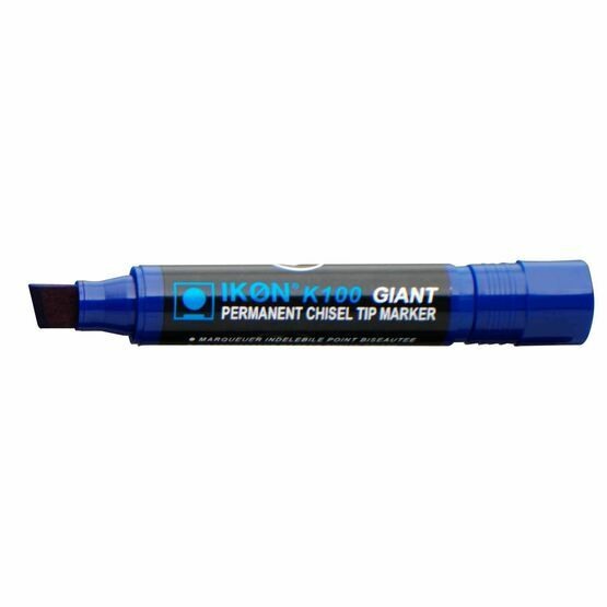 Ikon K100 Giant Permanent Marker - Pack Of 10