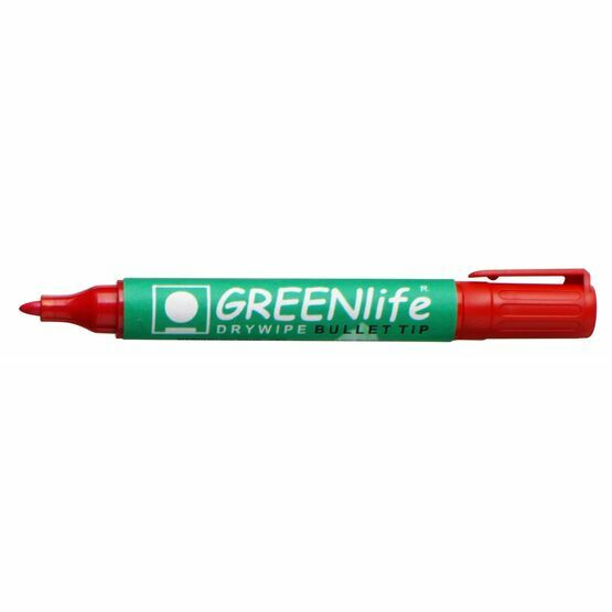 Greenlife Dry Wipe Bullet Tip Marker - Pack Of 4