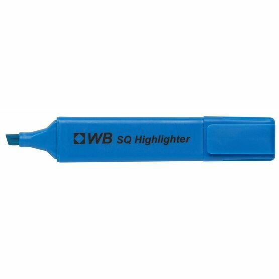Wb Sq Highlighter - Pack Of 6 (mixed)