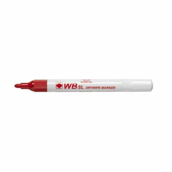 Wb Sl Dry Wipe Bullet Tip Marker - Pack Of 100