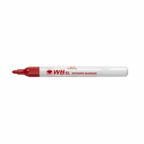 Wb Sl Dry Wipe Bullet Tip Marker - Pack Of 4