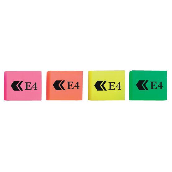 Bg Erasers E4 Fluorescent