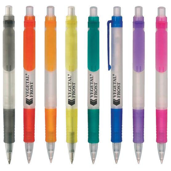 Vegetal 100% Bio-Degradable Frosted Retractable Pen