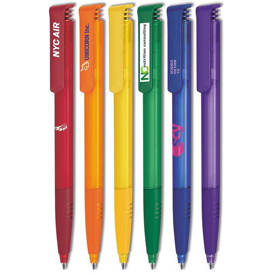 Super-Soft Clear Retractable Pen